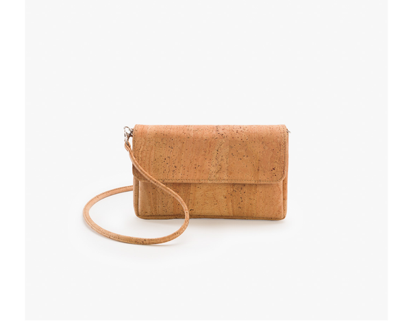 Vegan Crossbody Bag | Natural - Vegan Shoes Rutz