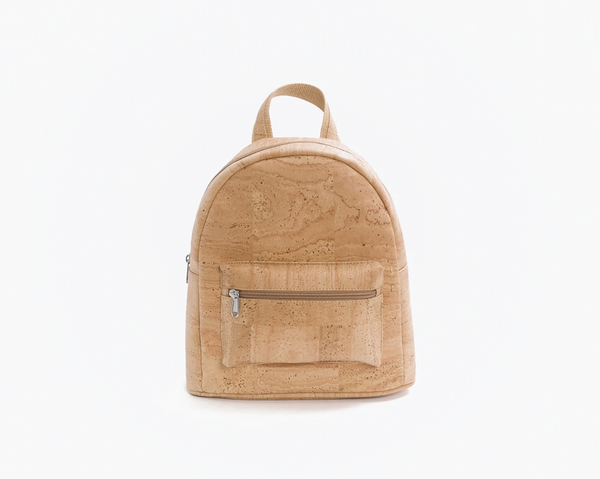 Vegan Backpack | Natural (cork fabric) - Vegan Shoes Rutz