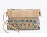 Vegan Crossbody Bag | Ethnic Blue - Vegan Shoes Rutz