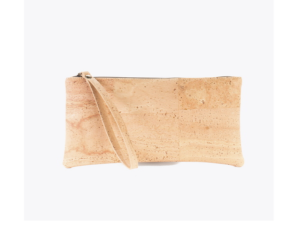 Vegan Clutch/Wristlet | Natural - Vegan Shoes Rutz