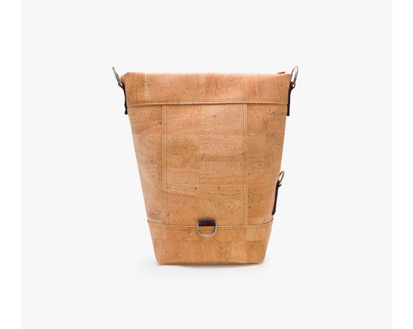 Vegan Backpack & Bag | Natural & Brown - Vegan Shoes Rutz
