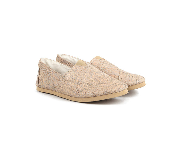 Vegan Espadrilles (Man) | White Snake - Vegan Shoes Rutz