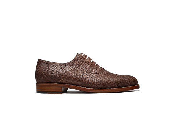 Goodyear Welted Classic Oxford | Browntresse - Vegan Shoes Rutz