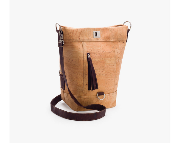 Backpack & Bag | Natural & Brown - Vegan Shoes Rutz