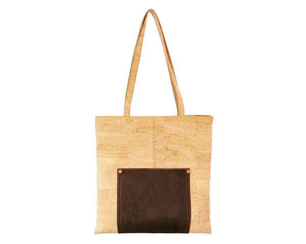 Vegan Shopping Bag | Brown - Vegan Shoes Rutz