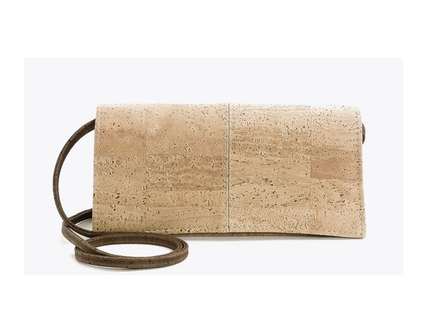 Vegan Clutch (medium) | Natural - Vegan Shoes Rutz
