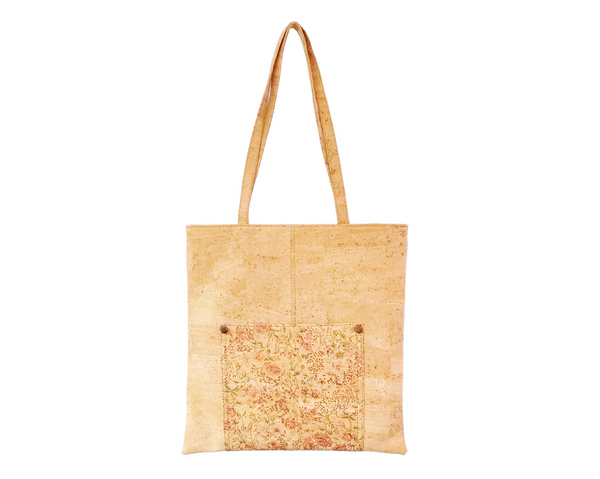 Vegan Shopping Bag | Floral - Vegan Shoes Rutz