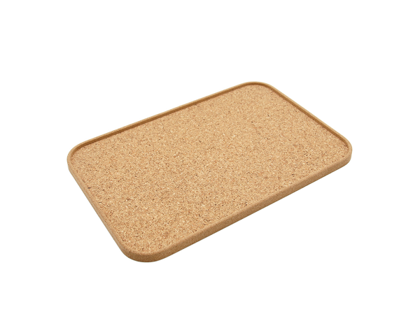 Eco-Vegan Large Tray | Natural Cork - Vegan Shoes Rutz