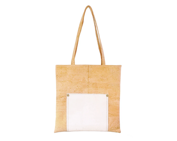 Vegan Shopping Bag | White - Vegan Shoes Rutz