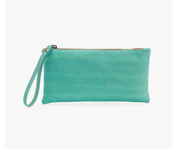 Vegan Clutch/Wristlet | Mint