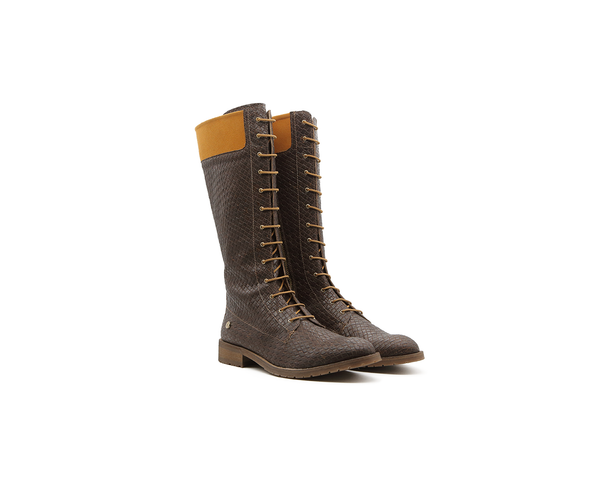 Vegan Ridding Boot | Browntresse - Vegan Shoes Rutz
