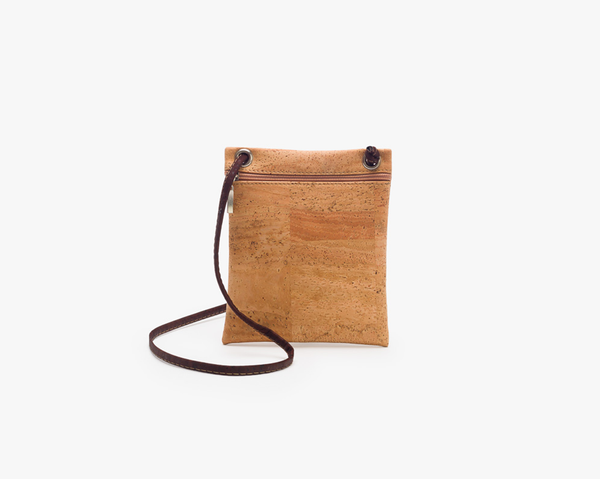 Small Shoulder Purse | Natural - Vegan Shoes Rutz