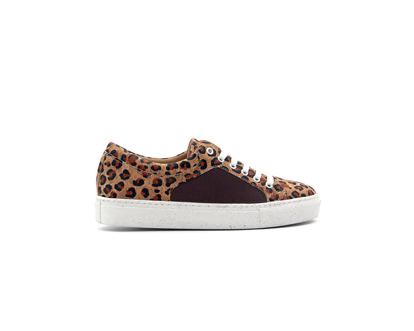 Regular Sneakers | Leo Brown & R-PET Brown - Vegan Shoes Rutz