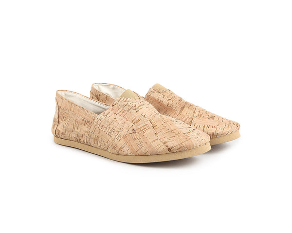 Vegan Espadrilles Man | Natural - Vegan Shoes Rutz