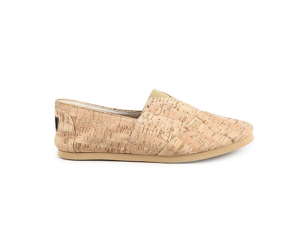 Vegan Espadrilles (Man) | Natural - Vegan Shoes Rutz