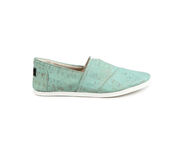 Vegan Espadrilles (Man) | Mint - Vegan Shoes Rutz