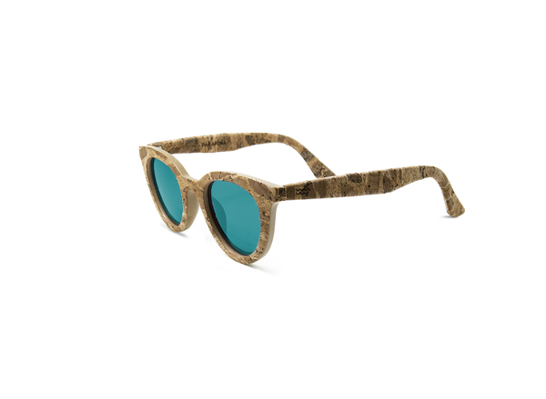 Lluvia Sunglasses | Inka Cork & Greenland Auroras - Vegan Shoes Rutz