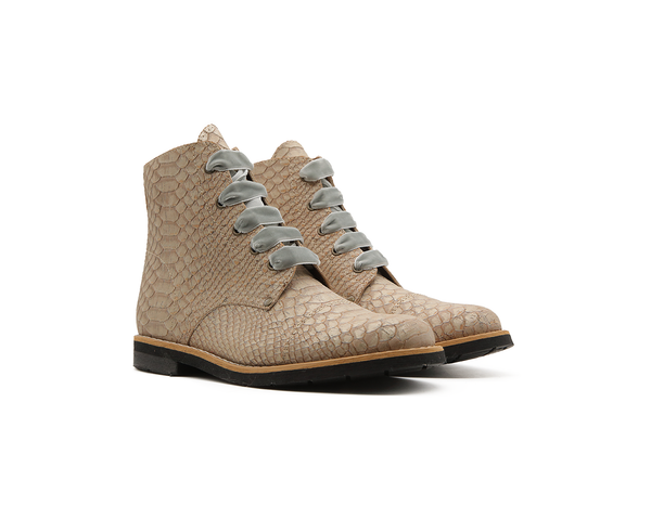 Vegan Mountain Boots | White Snake - Vegan Shoes Rutz