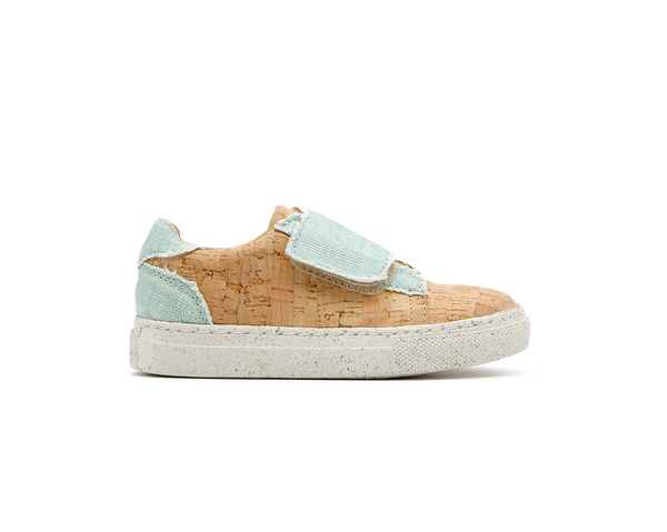 Vegan Sneakers One Velcro | Natural & Organic Mint - Vegan Shoes Rutz