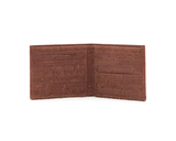 Vegan Man Card Wallet | Camel - Vegan Shoes Rutz