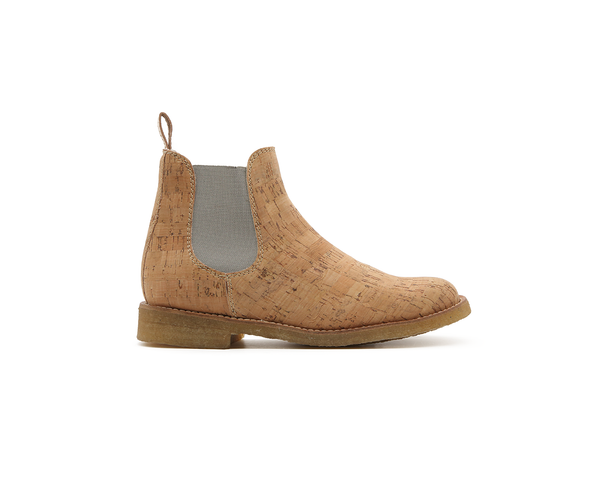 Vegan Chelsea Boot | Natural - Vegan Shoes Rutz