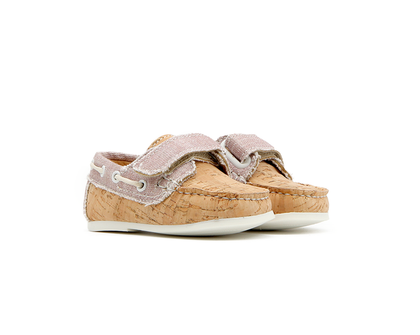 Baby & Kids Boat Shoe | Natural & Organic Pink
