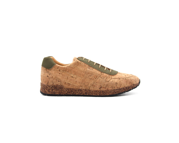 Runners | Natural & Recycled PET Green - Vegan Shoes Rutz