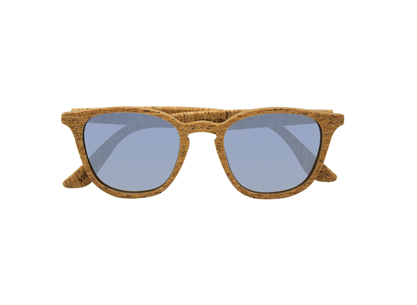 Niebla Sunglasses | Creta Cork & Tile Silver - Vegan Shoes Rutz