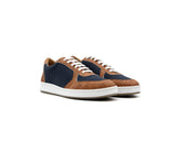 Old Skool Sneakers | Beige & R-PET Blue - Vegan Shoes Rutz