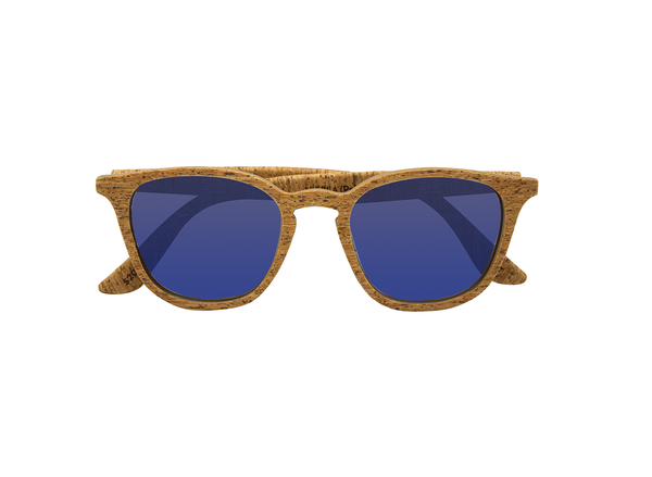 Niebla Sunglasses | Alentejo Cork & Parafina Blue - Vegan Shoes Rutz