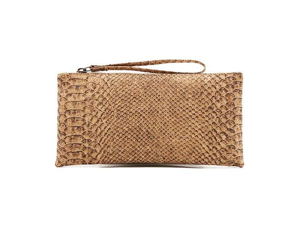 Vegan Clutch/Wristlet | Python - Vegan Shoes Rutz