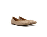 Ballerinas | White Snake - Vegan Shoes Rutz