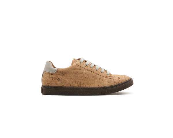Vegan Sneakers Eco Plus | Natural-Grey - Vegan Shoes Rutz