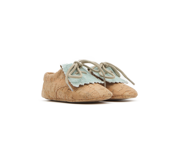 Vegan Baby Fringes | Natural & Organic Mint - Vegan Shoes Rutz