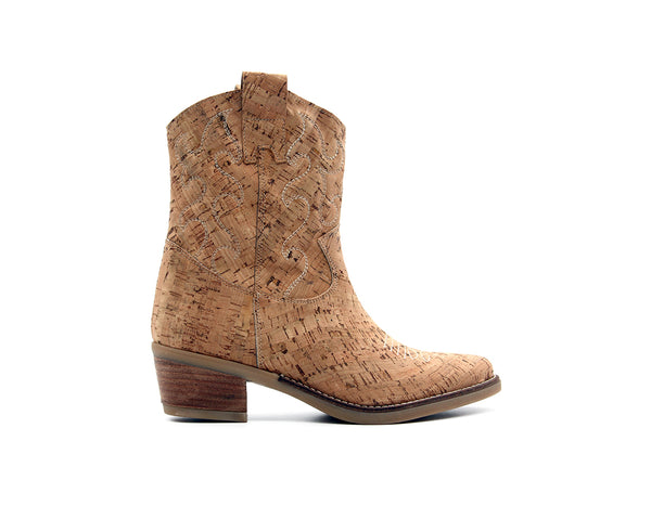 Texan Boot | Natural - Vegan Shoes Rutz