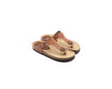 Vegan Slippers (Kids) | Beige - Vegan Shoes Rutz