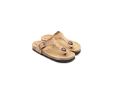 Slippers (Kids) <br> Natural-Silver