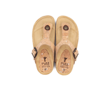 Vegan Slippers (Kids) | Natural-Silver - Vegan Shoes Rutz