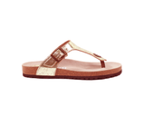 Slippers (Woman) <br> Gold