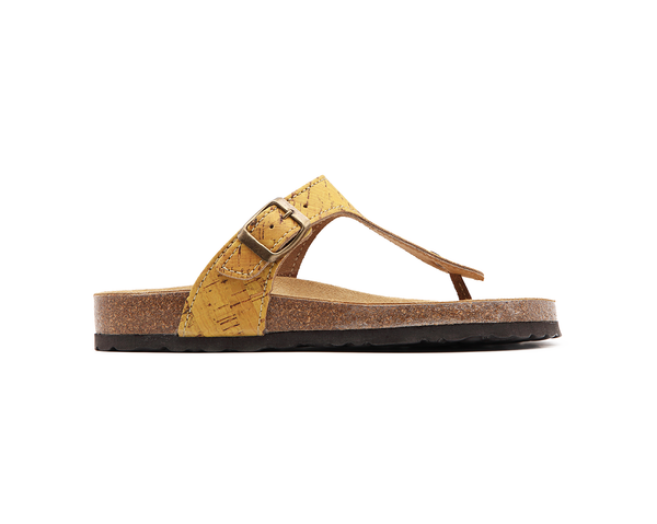 Slippers (Woman) <br> Mustard