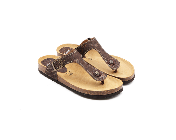 Slippers (Woman) <br> Browntresse