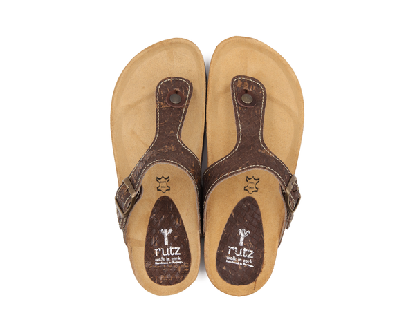 Slippers (Man) <br> Browntresse