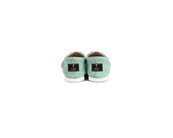 Vegan Espadrilles (Kids) | Mint - Vegan Shoes Rutz