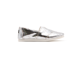 Vegan Espadrilles (Woman) | Silver - Vegan Shoes Rutz