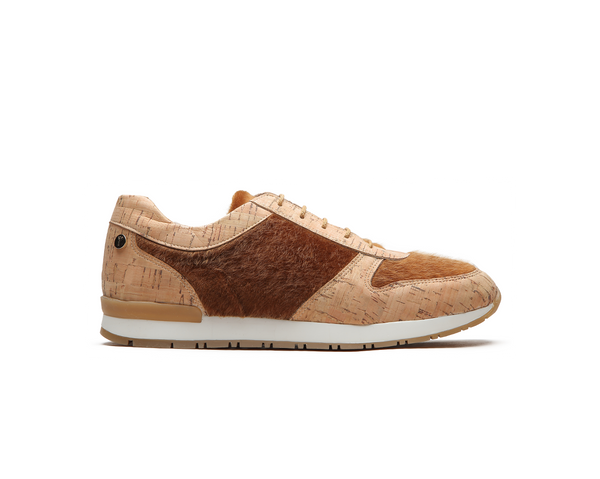 Eco Runners | Natural & Camel Fur - Vegan Shoes Rutz