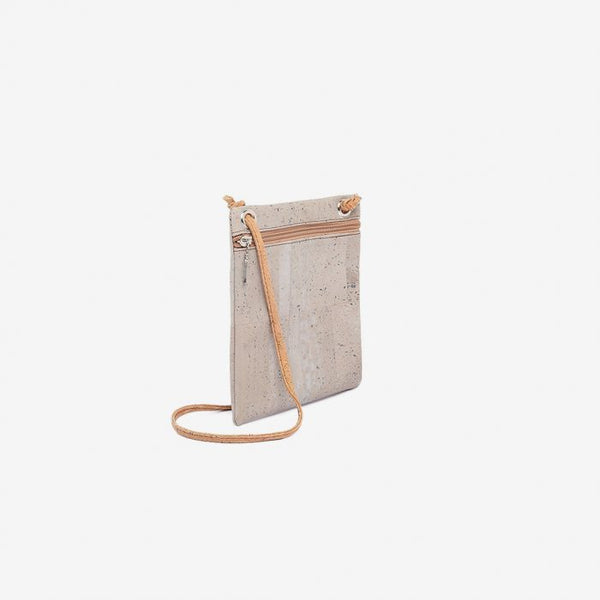 Small Shoulder Purse | Grey & Natural