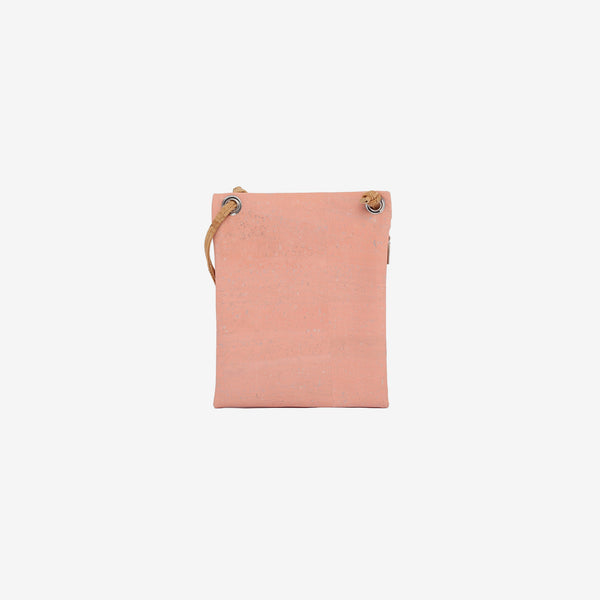 Small Shoulder Purse | Pink & Natural