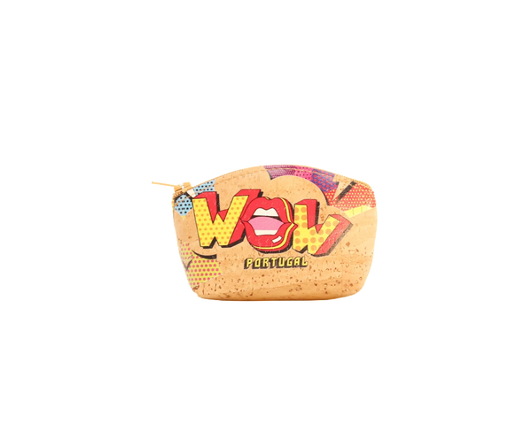 Vegan Small Purse | WOW Lips print - Vegan Shoes Rutz