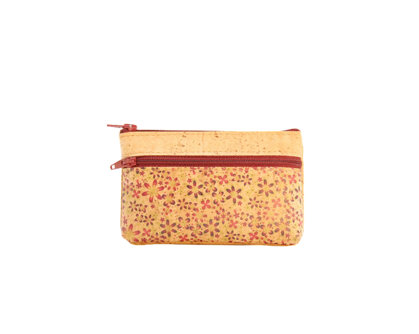 Vegan Small Purse | Flowers Pink - Vegan Shoes Rutz