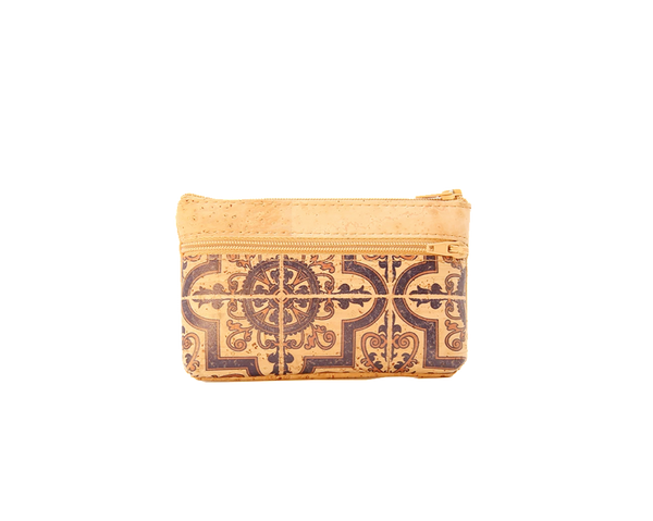 Vegan Small Purse | Portuguese Tiles - Vegan Shoes Rutz